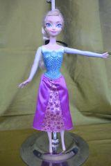 Frozen - Elsa.  Cantarina . Disney - foto