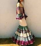 Traje de flamenca canastero - foto