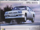 Opel manta - foto