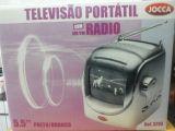 Televisor y radio portátil nuevo - foto