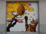 Grafiti mural en Salou i cambrils - foto