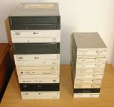 Pack 10 lectores dvd y cd IDE molex - foto