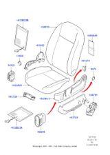 Tapa embellecedor asiento ford focus - foto