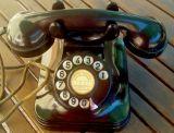 telefono baquelita 1930 standar electric - foto