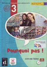 POURQUOI PAS 3 LIVRE DE L ELEVE + CD - foto