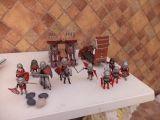 playmobil 10 muñecos playmobil caballero - foto
