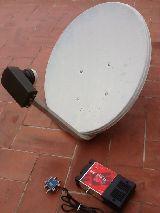 Kit Parabolica Colectiva LNB Quattro Amp - foto