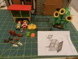 playmobil granja conejos 3075 - foto
