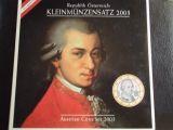 Austria. Cartera 2003: Mozart. 8 Monedas - foto
