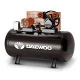 COMPRESOR DAEWOO 5. 5 HP 300 L.  CORREAS - foto