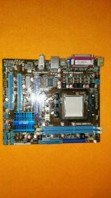 placa am3 asus m4n68t-m texteada - foto