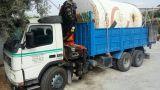 trabajos  con camiones grúa - foto
