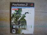 Metal gear solid 3 - ps2 - como nuevo!!! - foto