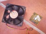 Procesador y ventilador - foto