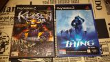 Ps2 kenssen + the thing sin manuales - foto