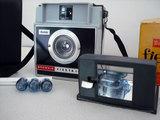 Camara antigua aÑo 60 como nueva y flash - foto