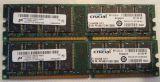 modulo de 1GB PC3200 DDR-400MHz - foto