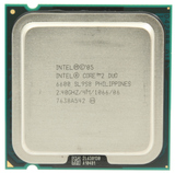 Intel 775-core 2 duo-2,40ghz-6600 - foto