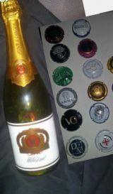 botella juve camps milenium del 2000 - foto