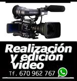 Videographer camera Barcelona Spain - foto