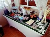 carrito Candy bar y mesas de Chuches - foto