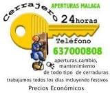 Cerrajero de malaga 637000808 particular - foto
