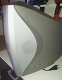 televisor de 18 pulgadas gris plata - foto