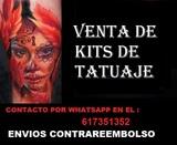kit tatuaje nuevos envio contrareembolso - foto