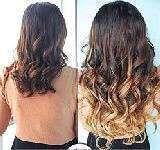 Extensiones de pelo de nudo o cosidas - foto