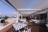 Cerramiento pergola terraza restaurante - foto