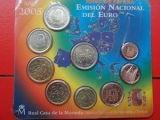 España. 2005. Cartera Oficial FNMT Euros - foto