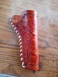 Cinturon con funda western revolver - foto