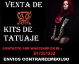 venta profesional kit tatuaje garantia - foto