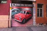 Graffiti grafitero grafiti murales - foto