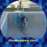 Galicia chorro de arena piscina - foto