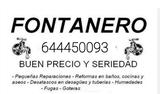 Fontanero Profesional Sevilla - foto