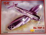 Maqueta ICM He-70 F2 - foto