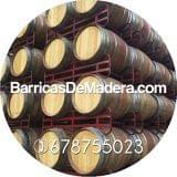 BARRICAS ROBLE DECORACIÓN 225 LITROS - foto