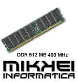 RAM DDR DE 512 MB 400 MHZ - foto