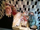 lote de muñecas de porcelana - foto