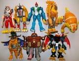 Digimon bandai H.T accion transformers - foto