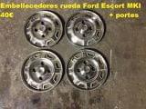 Embellecedores rueda Ford Escort MKI - foto