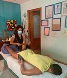 Masaje deportivo.estiramientos osteopat - foto