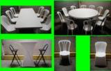 Alquiler de sillas y mesas. - foto