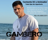 ALBERTO GAMBERO-CANTANTE+ DJ +ANIMACIÓN.  - foto
