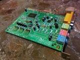 Tarjeta de sonido PCI Sound Blaster 128 - foto