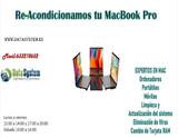 Re-acondicionamos tu Macbook Pro - foto