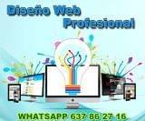 DiseÑo web economico host dominio - foto