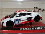 Scalextric Audi R8 LMS 24h Nürburgring. - foto