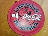 Porta dvd-cd de coca cola. - foto